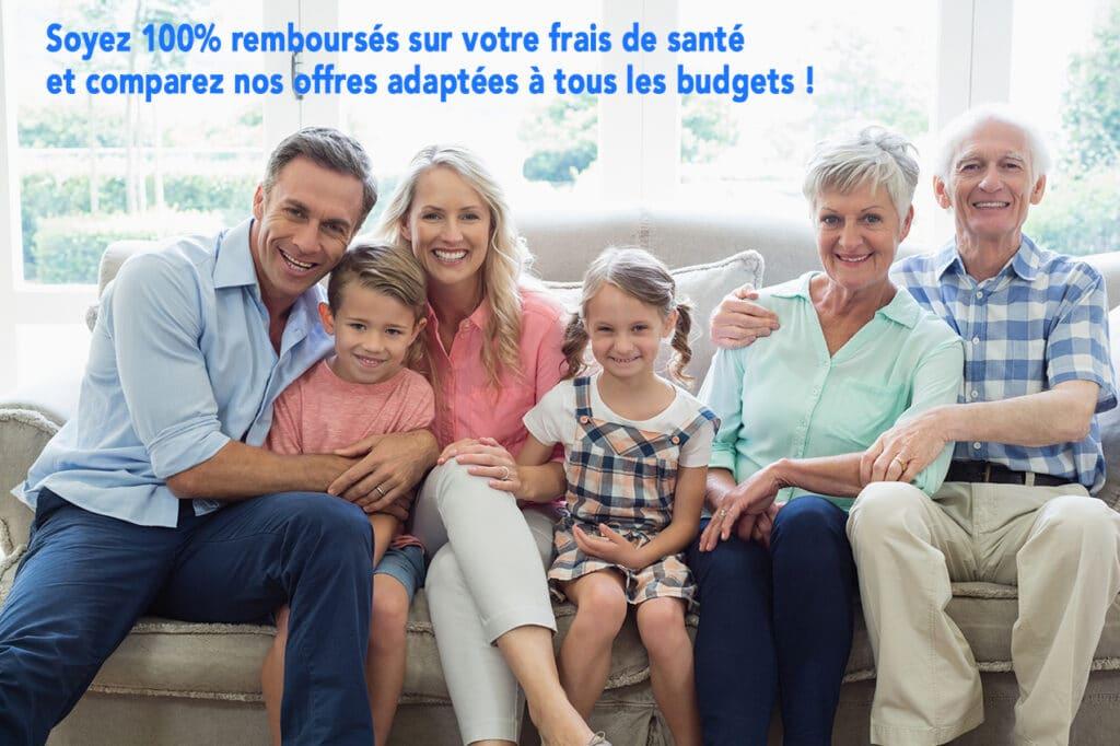 famille canapé mutuelle